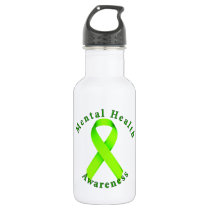 Mental Health Awareness Water Bottle