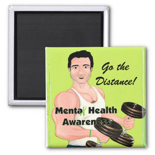 Mental Health Awarness/ Go the Distance! magnets