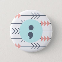 Mental Health Badge-Semicolon-Recovery-Support Button