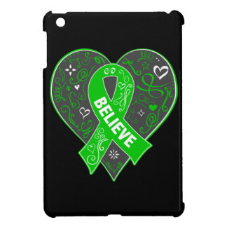 Mental Health Believe Ribbon Heart iPad Mini Case