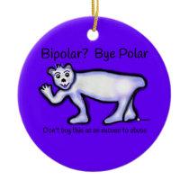Mental Health Bipolar Ceramic Ornament