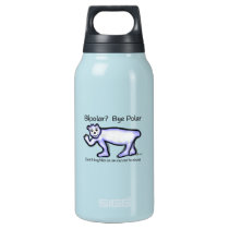 Mental Health Bipolar Insulated Water Bottle