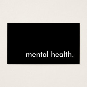 Mental health business cards templates zazzle mental health business card colourmoves