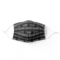 Mental Health Counselor Extraordinaire Adult Cloth Face Mask