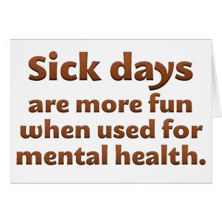 Mental Health Day Standard Card