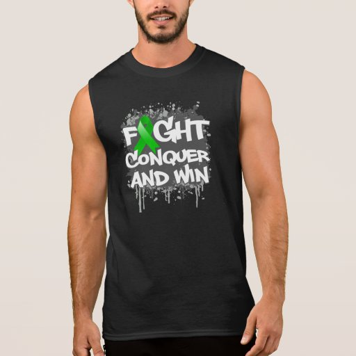 Mental Health  Fight Conquer and Win Sleeveless Tee