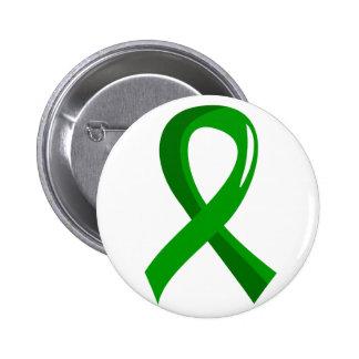 Mental Health Green Ribbon 3 Pin