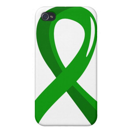 Mental Health Green Ribbon 3 iPhone 4/4S Cases