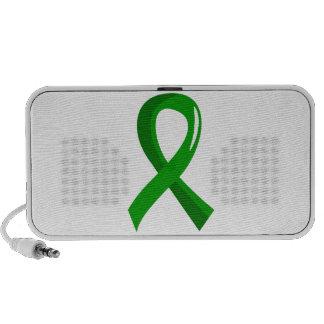 Mental Health Green Ribbon 3 iPhone Speaker