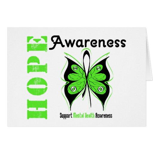 Mental Health Hope Awareness Card