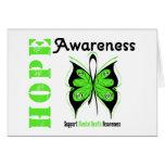 Mental Health Hope Awareness Greeting Card