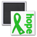 Mental Health Hope Ribbon Fridge Magnet
