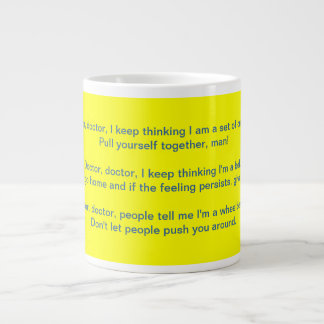 Mental Health Humor Mug