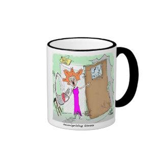 Mental Health Humor Stress Ringer Coffee Mug