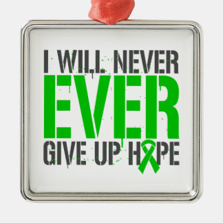 Mental Health I Will Never Ever Give Up Hope Christmas Ornaments