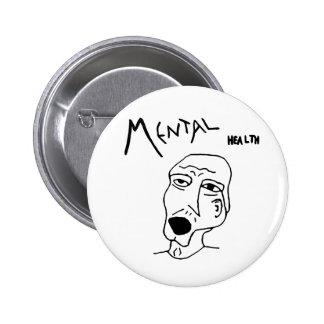 Mental Health Logo Pins