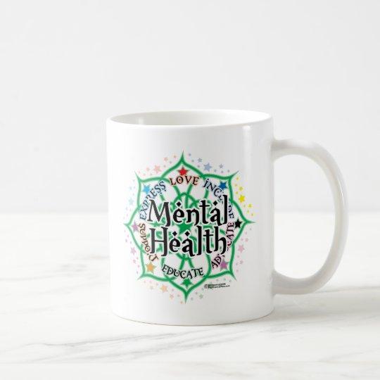 Mental Health Lotus Coffee Mug