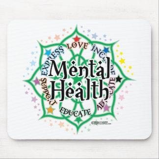 Mental Health Lotus Mouse Pad