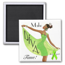 "Mental Health  ""Make Diva Time"" Magnets"