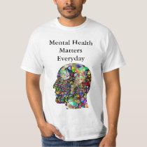 Mental Health Matters T-Shirt-Men's T-Shirt