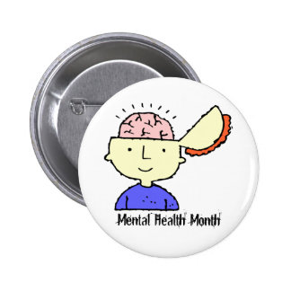 Mental Health Month Button