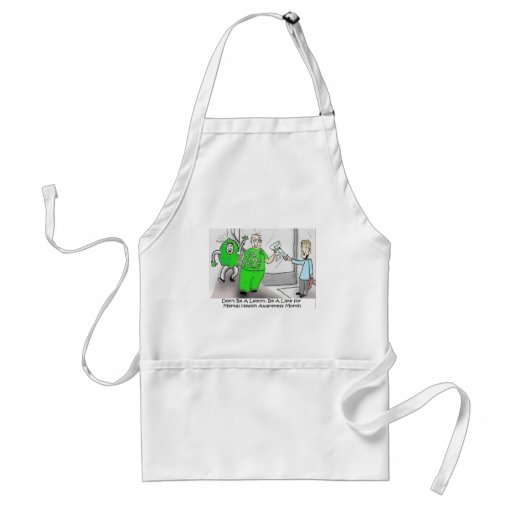 Mental health Month Go Lime Aprons