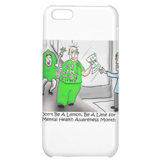 Mental health Month Go Lime Case For iPhone 5C