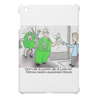 Mental health Month Go Lime iPad Mini Cover