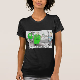 Mental health Month Go Lime Tee Shirt