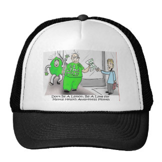 Mental health Month Go Lime Trucker Hats