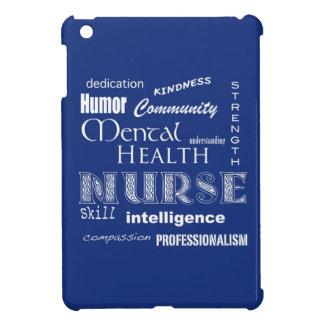 Mental Health Nurse-Attributes/Blueberry iPad Mini Case