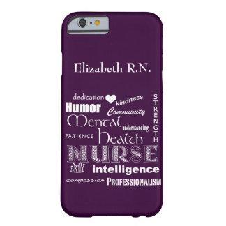 Mental Health Nurse-Attributes Plum iPhone 6 Case