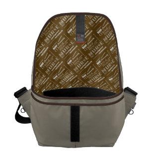 Mental Health Nurse Pride-Attributes/Aqua+Heart Courier Bags