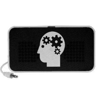 Mental Health Pictogram Doodle Speaker