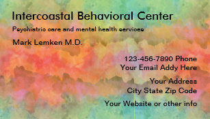 Mental Health Business Cards Zazzle