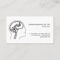 Mental Health / Psychologist business card