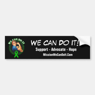 Mental Health - Rosie The Riveter - We Can Do It Bumper Stickers