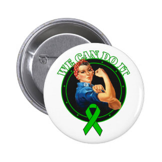 Mental Health - Rosie The Riveter - We Can Do It Pinback Button