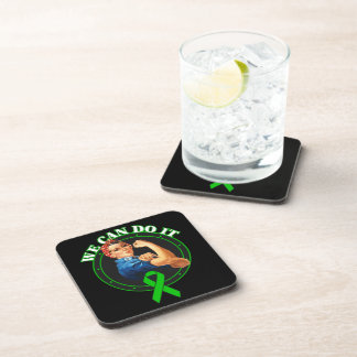 Mental Health - Rosie The Riveter - We Can Do It Drink Coasters