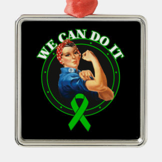 Mental Health - Rosie The Riveter - We Can Do It Christmas Tree Ornaments
