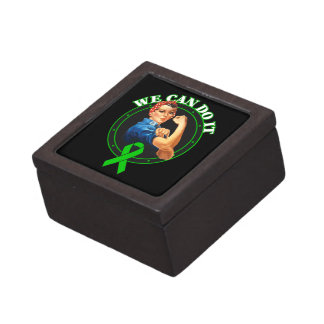 Mental Health - Rosie The Riveter - We Can Do It Premium Jewelry Box