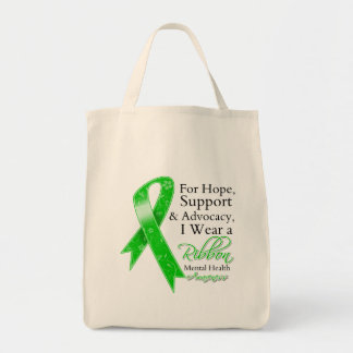 Mental Health Support Hope Tote Bag