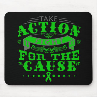 Mental Health Take Action Fight For The Cause Mouse Pad