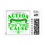 Mental Health Take Action Fight For The Cause Postage Stamps