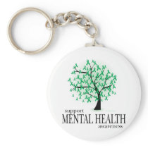 Mental Health Tree Keychain