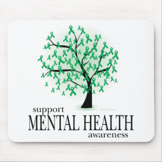 Mental Health Tree Mouse Pad