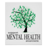 Mental Health Tree Poster
