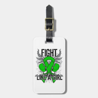 Mental Health Ultra Fight Like A Girl Travel Bag Tags