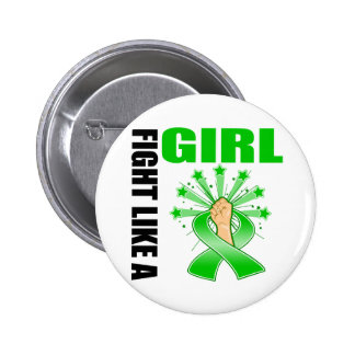 Mental Health Victory Fight Like A Girl Pin