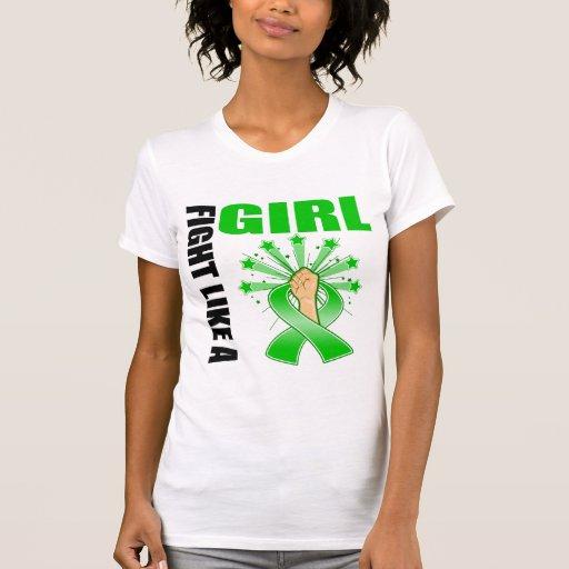 Mental Health Victory Fight Like A Girl Shirts